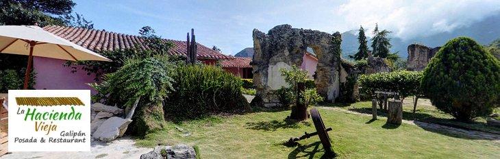 La Hacienda Vieja Banner